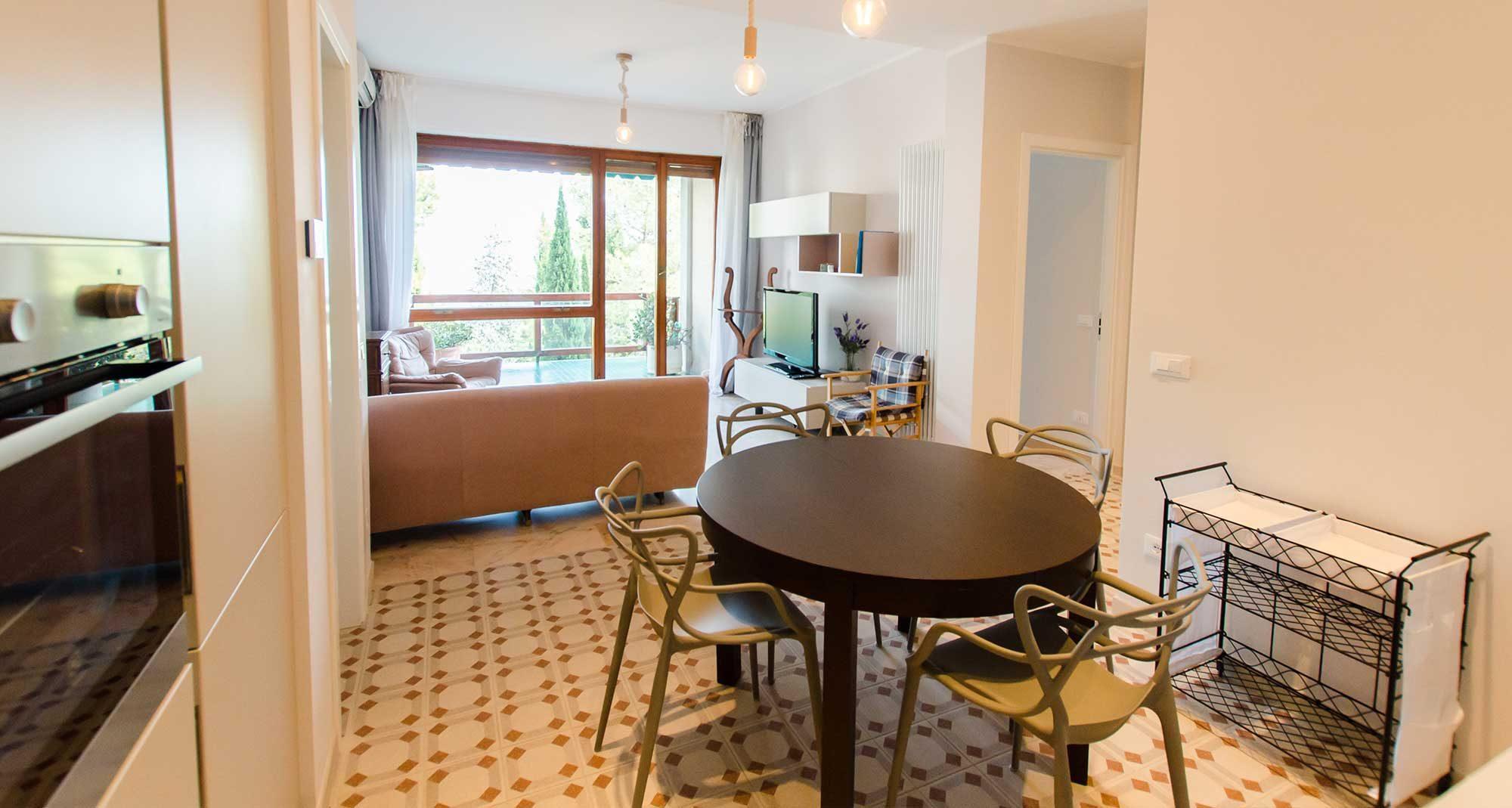 hi-spaces short rental apartment in italy